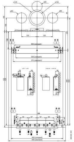 Ariston Alteas One Net 35 kombi kondenzációs fali gázkazán WiFi + CUBE szobatermosztát EU-ERP