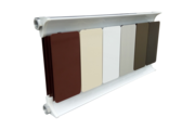 Romantik Classic fehér szinterezett aluminium radiátor 650mm kötéstáv 2 tagos