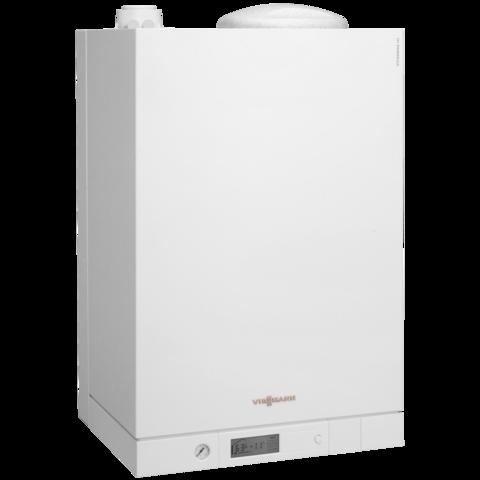 Viessmann Vitodens 111-W Touch 19 kW gázkazán, kompakt kondenzációs fali hőközpont beépített 46 L nemesacél tárolóval EU-ERP