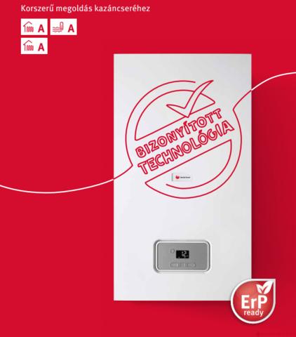 SAUNIER DUVAL Thelia Condens 25 EU ERP kondenzációs kombi gázkazán