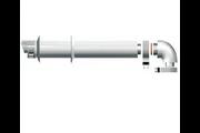 Ariston 60/100 Pps/Alu vízszintes parapet szett kondenzációs kazánhoz