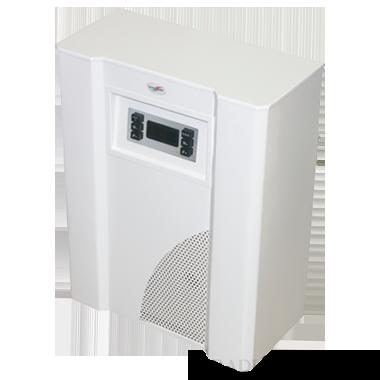 Mika 6EU.V 6kW-os parapetes ionizációs mini kazán ventilátorral, váltószeleppel, fehér