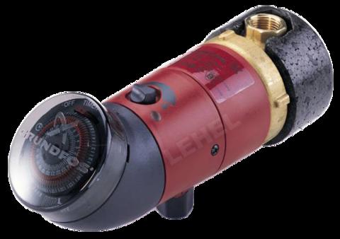 Grundfos UP 15-14 BU cirkulációs szivattyú időkapcsoló órával