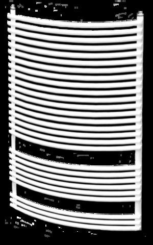 Dunaferr BOSSA RADIUS 800x400mm íves törölközőszárító radiátor
